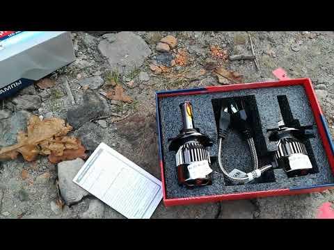 Как установить Светодиодных-ледовских ламп H4 в фары на автомобиль ВАЗ 2115.2114.2113.2199.2109.2108