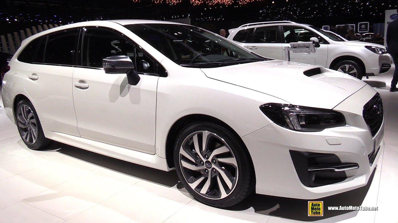 Subaru Levorg Usa >> 2018 Subaru Levorg Exterior And Interior Walkaround 2018 Geneva Motor Show