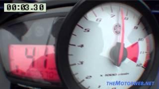 Yamaha YZF-R125 - 0-100 km/h