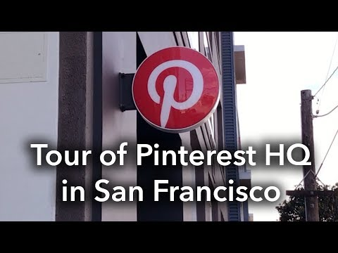 Pinterest SF Headquarters Behind-the-Scenes Tour