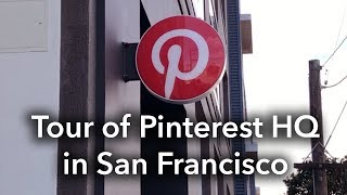Gambar cover Pinterest SF Headquarters Behind-the-Scenes Tour