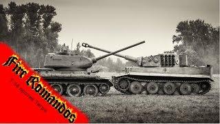 Т 34 против Тигра World of Tanks(В этом видео я покажу как выглядела встреча танков Тигр и Т-34 На самом деле это трейлер предстоящей реконстр..., 2015-04-23T17:26:29.000Z)