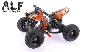 Lego Technic 9392 Quad Bike - Lego Speed Build Review