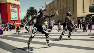 Luna Love African dance flash mob.mp3
