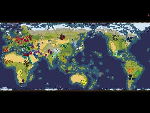 Civilization 6 AI Only Part 1