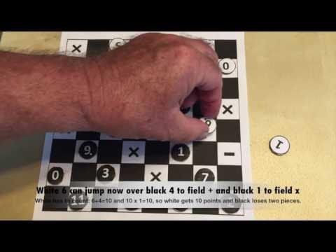 Math-GAMES: Damath - Play Checkers And Learn Mathematics