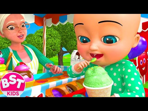 Ice cream Song 2 | BST Kids Songs & Nursery Rhymes