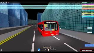 Roblox London & East ALPHA VERSION Enviro 200 Tower Transit Route 308 Temple Mills Lane nach Stratford