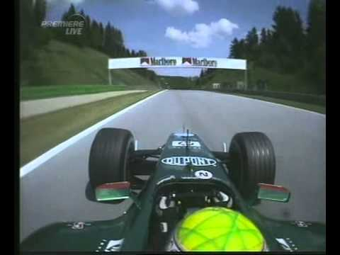 F1 Austrian GP A1-Ring 2003 - Saturday Qualifying - Mark Webber Disaster Lap Onboard!