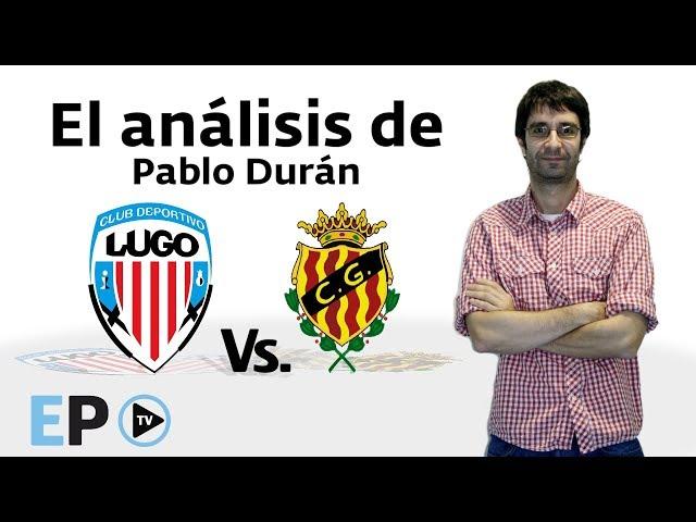 El Progreso TV ► Pablo Durán analiza el CD Lugo Vs. Nástic