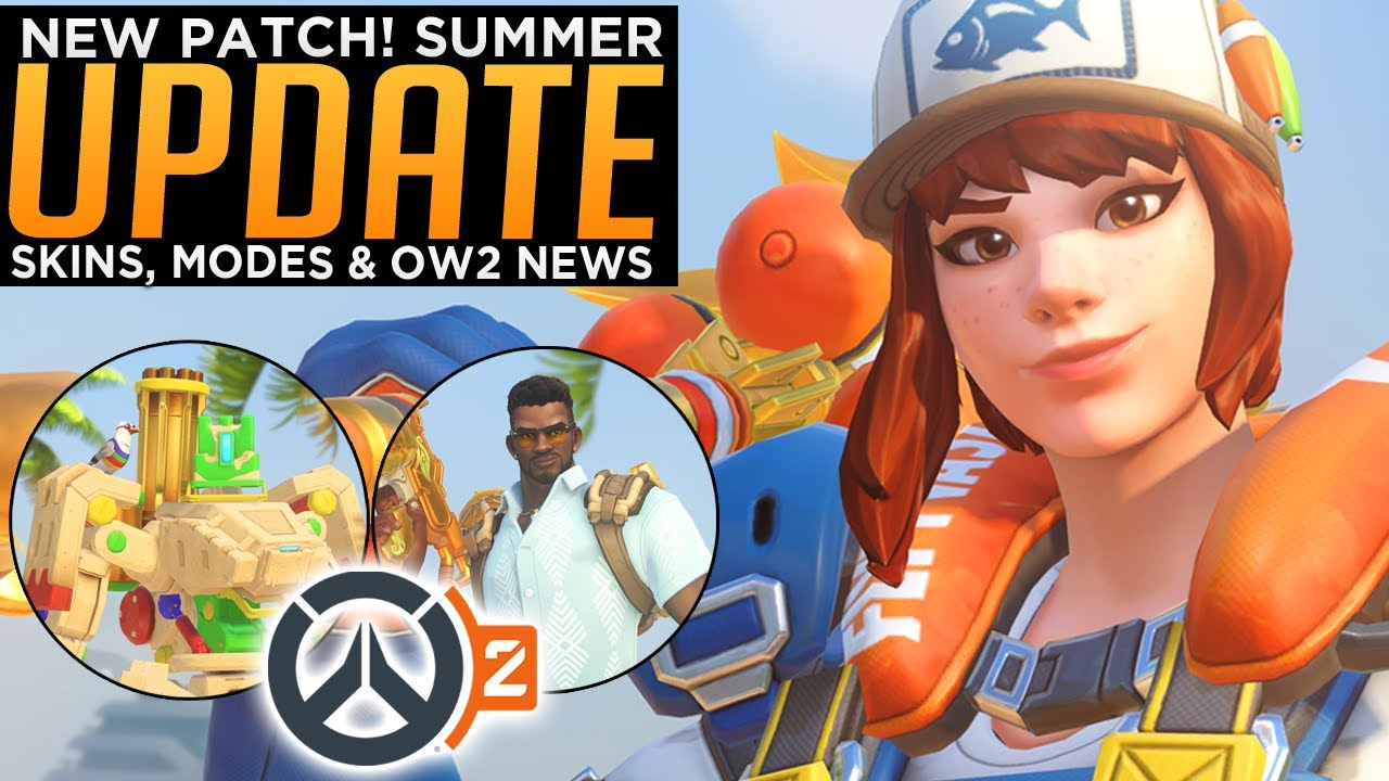 Overwatch: Summer Games UPDATE! - New Skins, Modes & OW2 News thumbnail