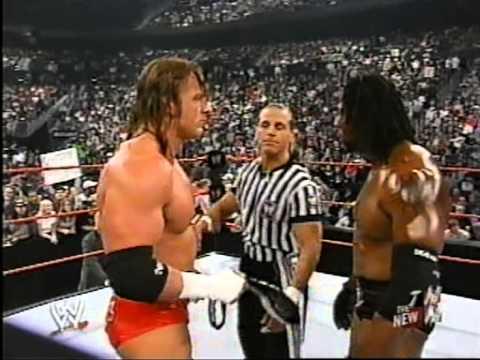 Booker.T vs. HHH-World Title Pt.1