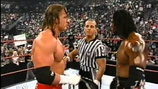 Booker.T vs. HHH-World Title Pt.1