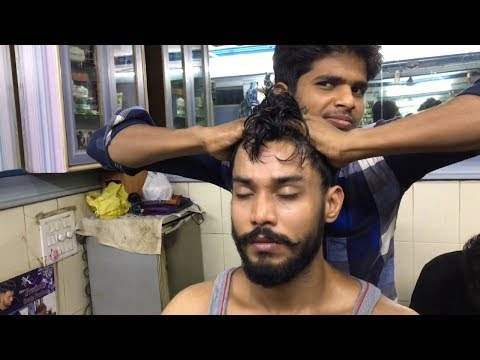 Young Indian Barber - Head And Upper Body Massage| ASMR