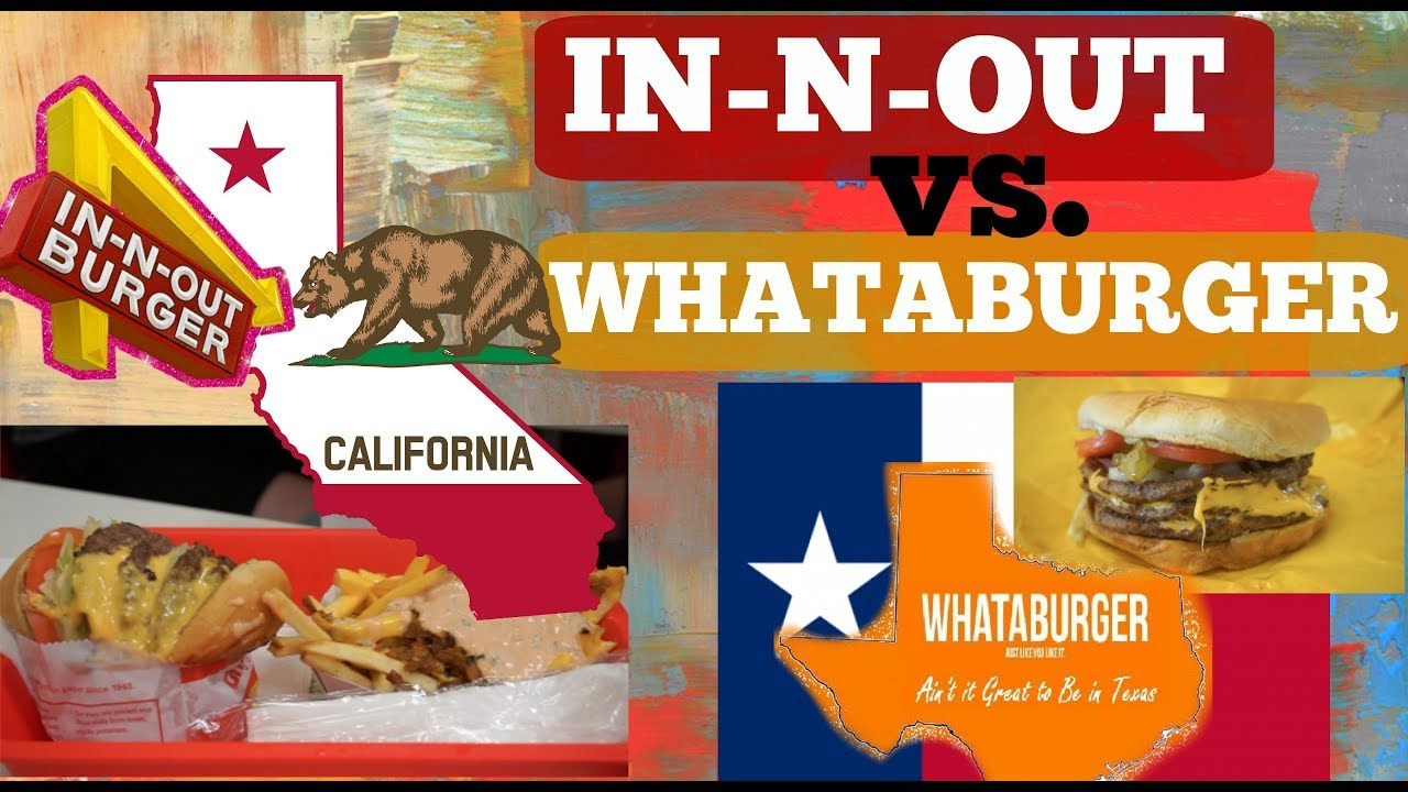 Image result for whataburger vs in n out