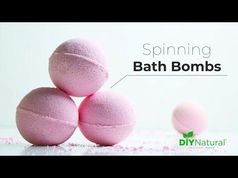 Bath Bomb Recipe: DIY Bath Bombs That Fizz And Spin | DIY Natural