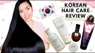 Korean Hair Care Products  Review-Hair Care Routine -First Impression Kbeauty Beautyklove