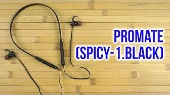 Распаковка Promate Spicy-1 Black
