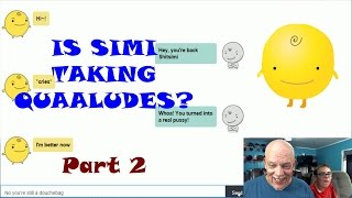 Simsimi Fun | Is Simi Taking Quaaludes?! Part 2