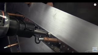 how to set rivets bumping hammers axle puller axle nut sockets more eastwood