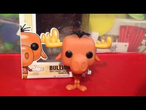 Rocky And Bullwinkle Funko Pop Bullwinkle Review Youtube