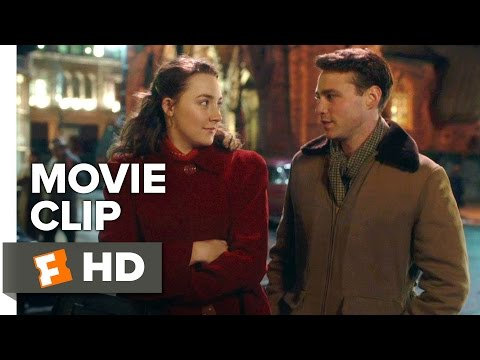 Brooklyn Movie CLIP - You Don't Sound Irish (2015) - Saoirse Ronan, Emory Cohen Movie HD
