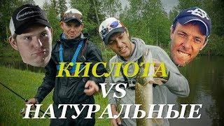 КИСЛОТНЫЕ воблеры VS НАТУРАЛЬНЫЕ. Рыболовный батл. Самый убойный цвет - Fishing Today.