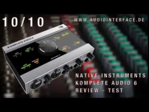 native instruments komplete audio 6 review test usb audio interface audiointerface de youtube. Black Bedroom Furniture Sets. Home Design Ideas
