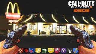 """*PISTOL ONLY* MCDONALDS ZOMBIES - BLACK OPS 3 """"CUSTOM ZOMBIES"""" MODS! (Call of Duty: Zombie Mods)"""