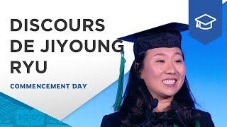 Discours de Jiyoung Ryu, diplômée du programme Grande École | ESSEC Commencement Day 2017