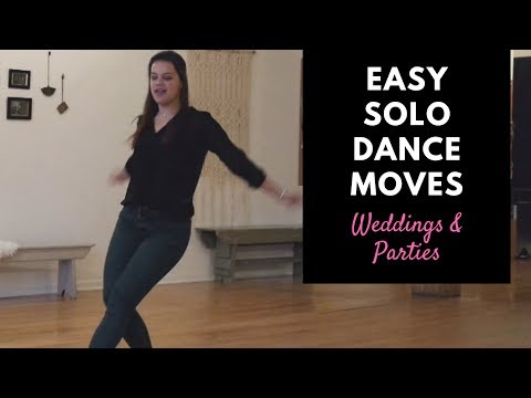 How to Dance to Pop Music at Weddings | Easy Solo Dance Moves
