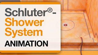 Schluter®-Shower System Animation