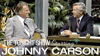 Billy Graham Sits Down With Johnny on Carson Tonight Show - 06/13/1973