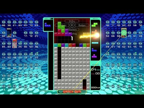 Tetris 99: Quick Look