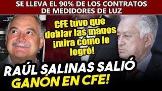 Raúl Salinas gana contrato millonario en la 4T de Obrador, ¡mira cómo se coló en CFE!