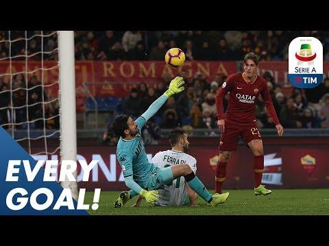 Ronaldo Scores, Inter Wins Late, & Nicolo Zaniolo's Outrageous Chip! | EVERY Goal R18 | Serie A