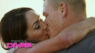 WWE Kiss 2015    Top 10 kissing  WWE John Cena Nikki Bella