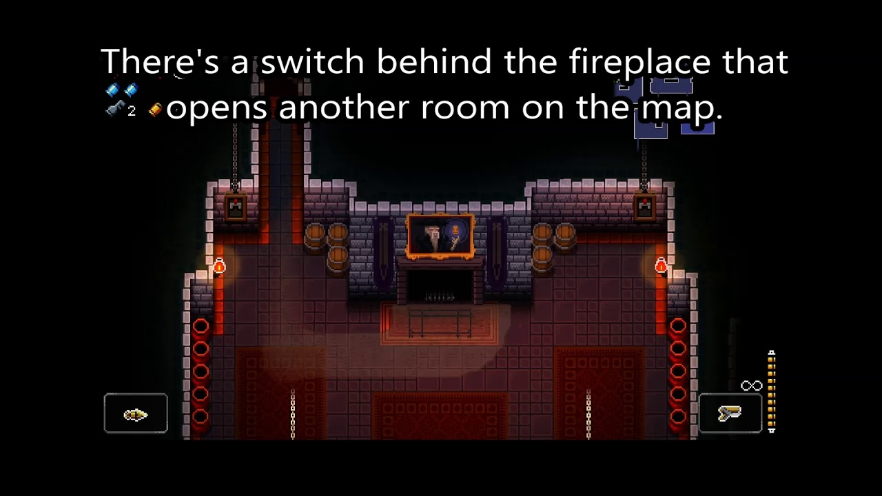 Using the Fireplace Room - Enter the Gungeon - YouTube