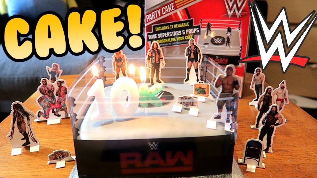 Wwe Wrestling Cake Tesco Cake Recipe