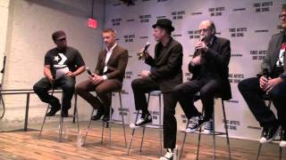 Sway Intervews Diplo, Paul Simonon & Mick Jones of The Clash Part 1 of 2