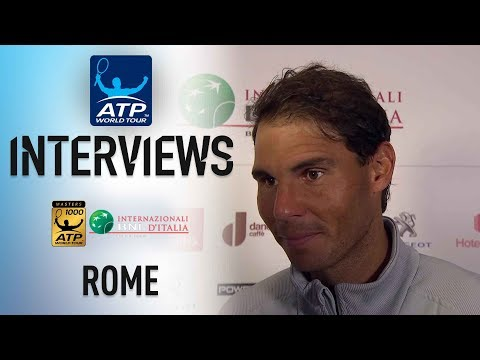 Nadal Pleased With Shapovalov Triumph In Rome 2018