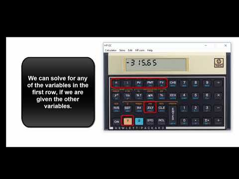 Mortgage Calculations Using the HP 12 C