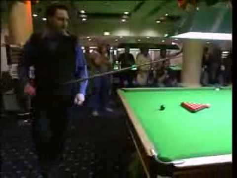 Snooker Trick shot 2006 South Pacific Open Grant Meadley