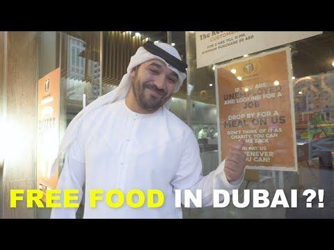 FREE FOOD IN DUBAI?!