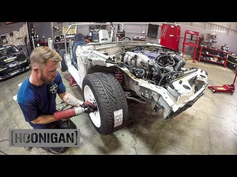 [HOONIGAN] DT 166: $200 Miata Kart Build – Skunk2 Coilovers