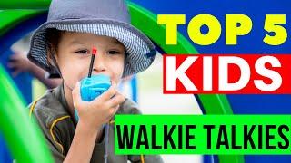 5 Best Kids Walkie Talkies 2020