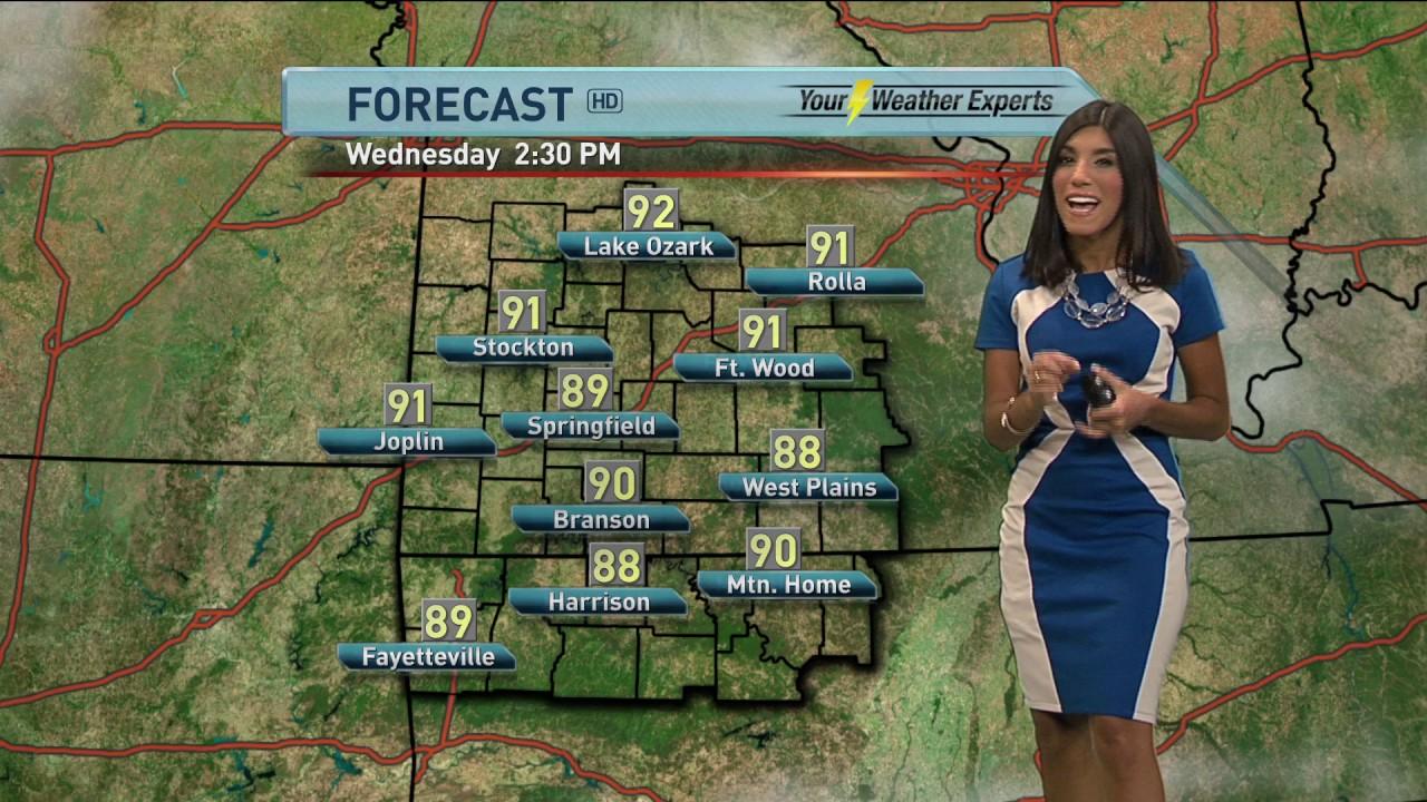 Elisa Raffa - KOLR 10 Weather, Forecast & Introduction 5AM Tuesday 6/20/17