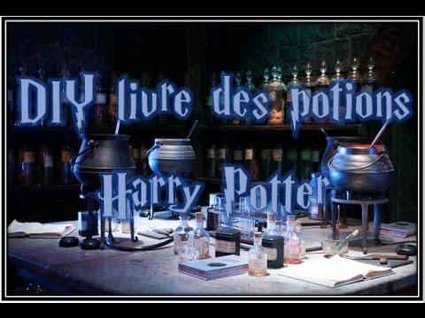Diy Livre Des Potion Harry Potter