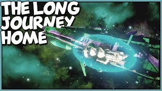 RADIATION WARNING - Derelict Airlock - Let's Play The Long Journey Home Gameplay