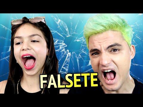 DESAFIO DO FALSETE COM MELODY